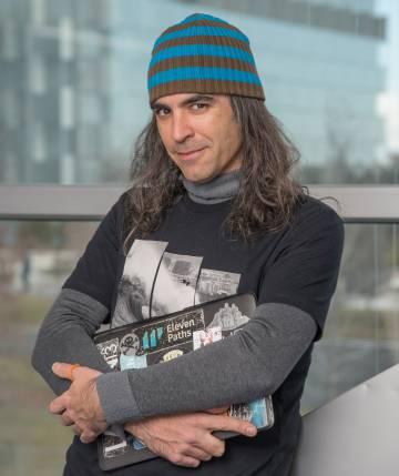 Chema Alonso, CDO de Telefónica, pasó de ser 'hacker' a ocupar uno de los puestos más importantes de la multinacional.