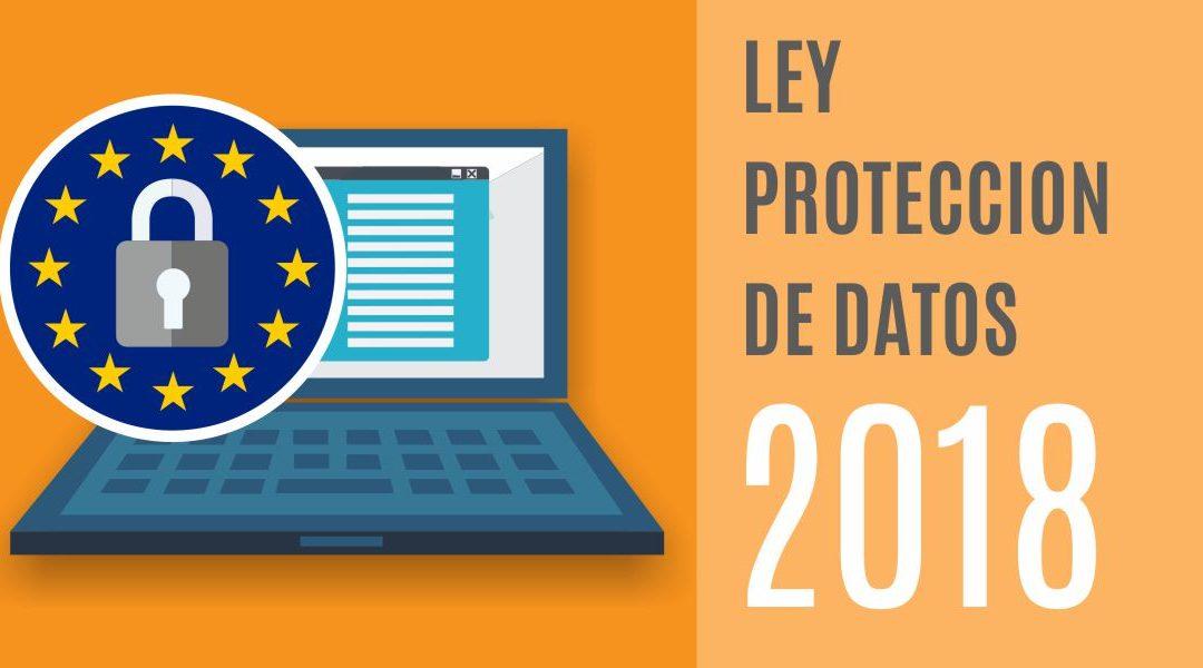 Resultado de imagen de ley de proteccion de datos 2018